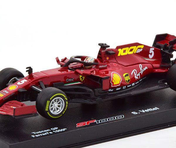 Ferrari SF1000 1000th Ferrari GP2020 Tuscon S.Vettel 1-43 Burago Racing Series