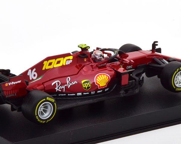 Ferrari SF1000 1000th Ferrari GP2020 Tuscon C.Leclerc 1-43 Burago Racing Series