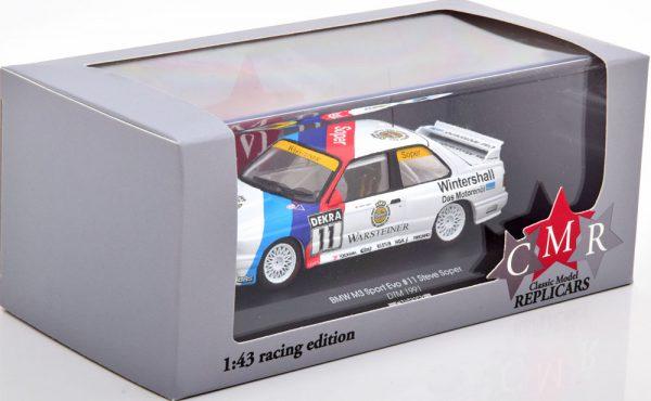 BMW M3 E30 No.11, DTM 1991 Steve Soper 1-43 CMR Models