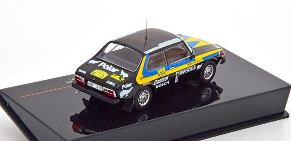 Saab 99 EMS No.1, Rally Sweden 1977 Eklund/Cederberg 1-43 Ixo Models