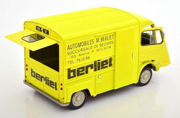Citroen HY Service Berliet 1969 Geel 1-18 Solido