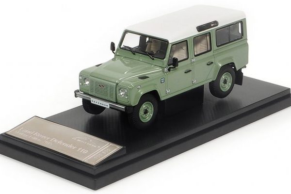 Land Rover Defender 110 Heritage Edition 2015 Groen 1-43 Almost Real