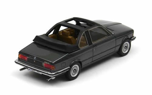 BMW 3er (E21) Baur 1979 Donkergrijs 1-43 Neo Scale Models