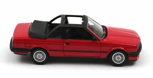 BMW 3er (E30) Baur 1986 Rood 1-43 Neo Scale Models