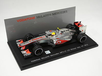 McLaren Mercedes Vodafone MP4-27 No.4 Winner US GP 2012 Lewis Hamilton 1-43 Spark