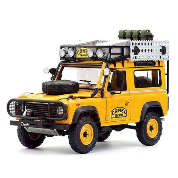 """Land Rover 90 """"Camel Trophy"""" Borneo 1985 Bruin 1-18 Almost Real"""