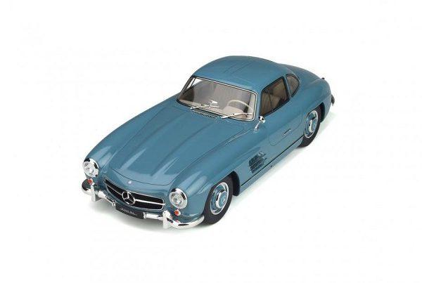 Mercedes-Benz 300 SL (W198) 1954 Lichtblauw 1-12 GT Spirit Limited 500 Pieces