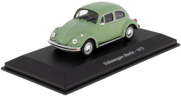 Volkswagen Kever 1972 Groen 1-43 Atlas ( Vitrine )