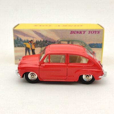 Fiat 600 D Rood 1:43 Dinky Toys ( Atlas )