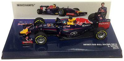Infiniti Red Bull Racing RB10 2014 S. Vettel 1-43 Minichamps