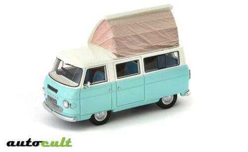 Commer Dormobile Coaster Light Blue & White 1972 1-43 Autocult Limited 333 Pieces