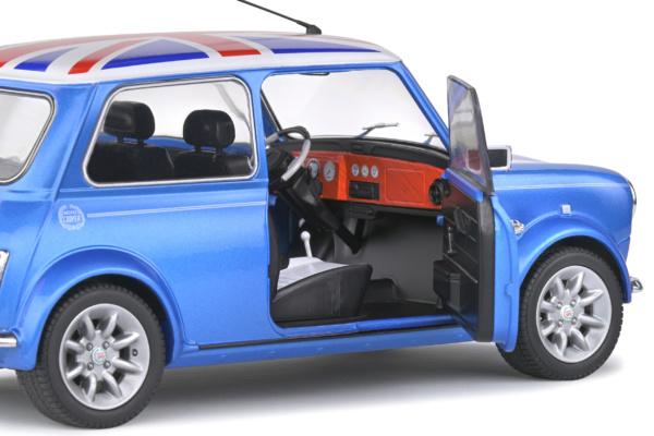 Mini Cooper Sport 1997 Fisherman Blue 1-18 Solido