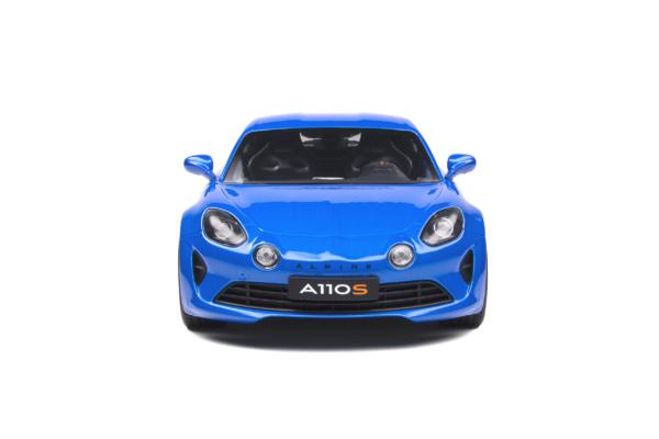 Renault Alpine A110S 2019 Alpine Blue 1-18 Solido