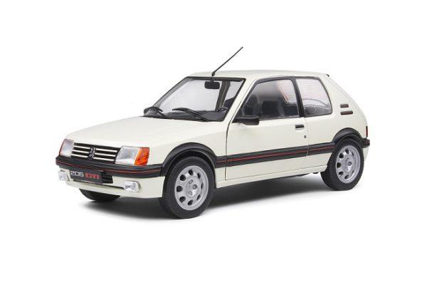 Peugeot 205 GTI 1.9L MKI 1988 Wit 1-18 Solido