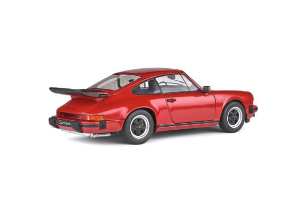 Porsche 911 Carrera 3.2 1984 ( 930 ) Rood 1-18 Solido