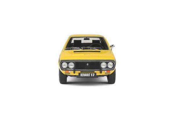 Renault R17 MKI 1976 Dakar Geel 1-18 Solido