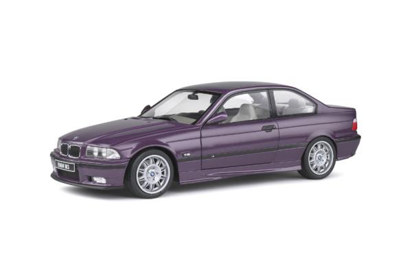 BMW M3 E36 Coupe 1990 Technoviolet 1-18 Solido