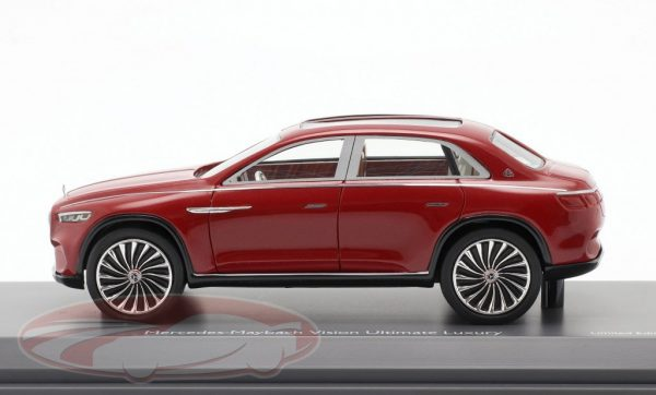 Mercedes-Benz Maybach Vision Ultimate Luxury Rood Metallic 1:43 Schuco Pro.R43 Limited 500 Pieces
