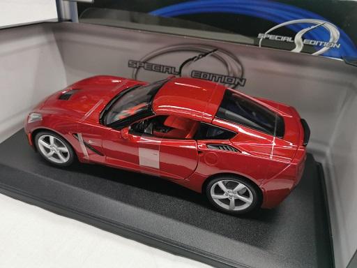 Chevrolet Corvette C7 Stingray 2014 Bordeaux Rood 1-18 Maisto