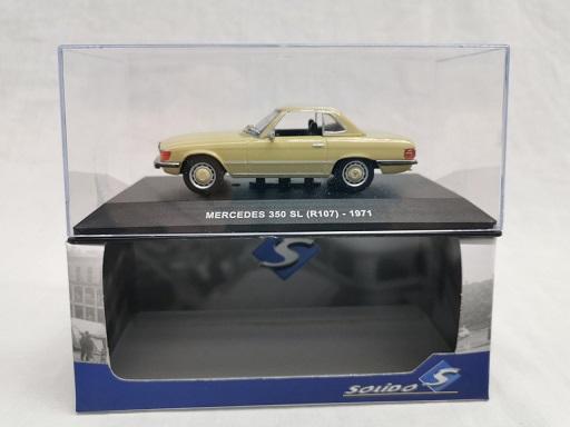 Mercedes-Benz 350SL ( R107) 1971 Lichtbruin 1-43 Solido