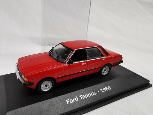 Ford Taunus 1980 Rood 1-43 Altaya