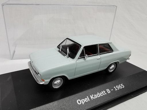 Opel Kadett B 1965 Lichtgroen 1-43 Altaya