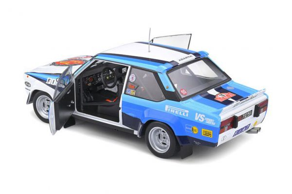Fiat 131 Abarth Rallye de Monte Carlo 1980 #10 W.Rohrl / Ch.Geistdorfer 1-18 Solido