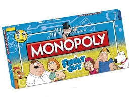 Monopoly Family Guy Collector's Edition Usaopoly New ( Geseald )