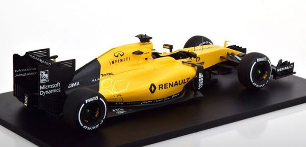 Renault R.S.16 F1 Showcar Magnussen / Palmer 2016 1:18 -Spark