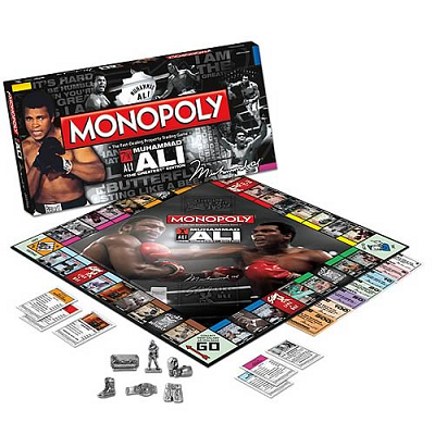 """Monopoly """"Mohammad Ali"""" The Greatest Collector's Edition"""