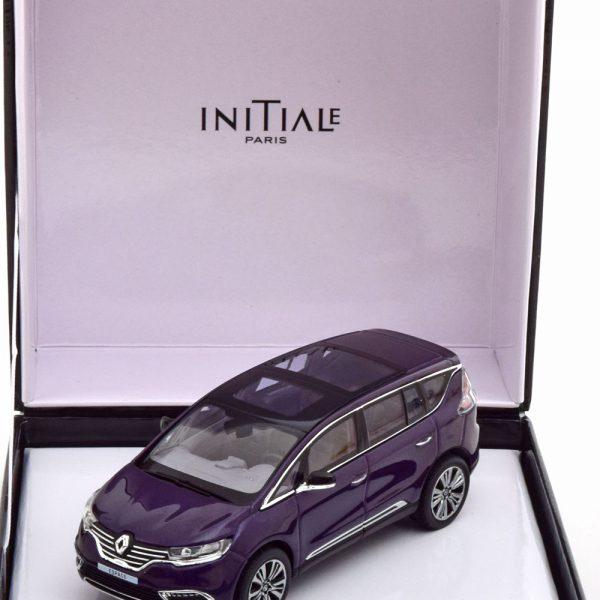 Renault Espace Initiale Paris 2014 Violet Metallic 1-43 Norev ( Giftbox )