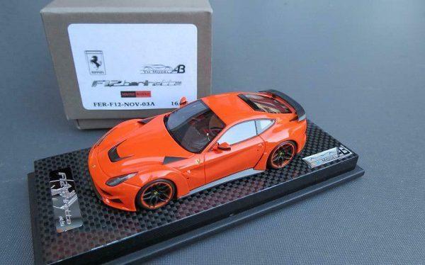 Ferrari F12 N Largo Orange Gloss 1-43 YM Models