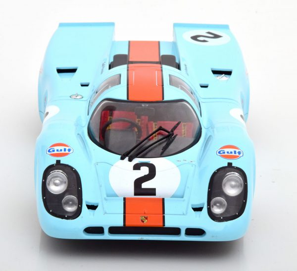 """Porsche 917K Winner 24Hrs Daytona 1970 """"Gulf"""" Rodriguez/Kinnunen/Redman 1-18 CMR Models"""