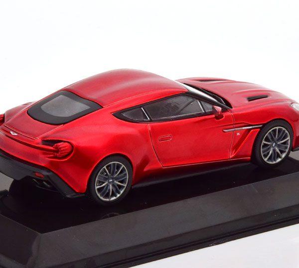 Aston Martin V12 Vanquish Zagato 2016 Rood Metallic 1-43 Altaya Supercars Collection