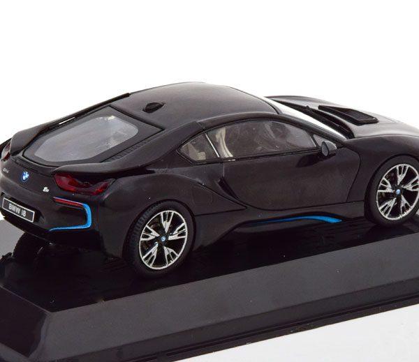 BMW i8 2014 Zwart 1-43 Altaya Supercars Collection