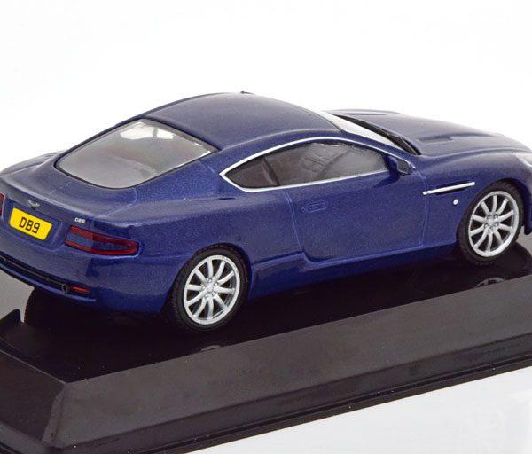 Aston Martin DB9 2004 Blauw Metallic 1-43 Altaya Supercars Collection
