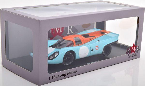 """Porsche 917K No.6, Can-Am Watkins Glen 1970 """"Gulf"""" Brian Redman 1-18 CMR Models"""