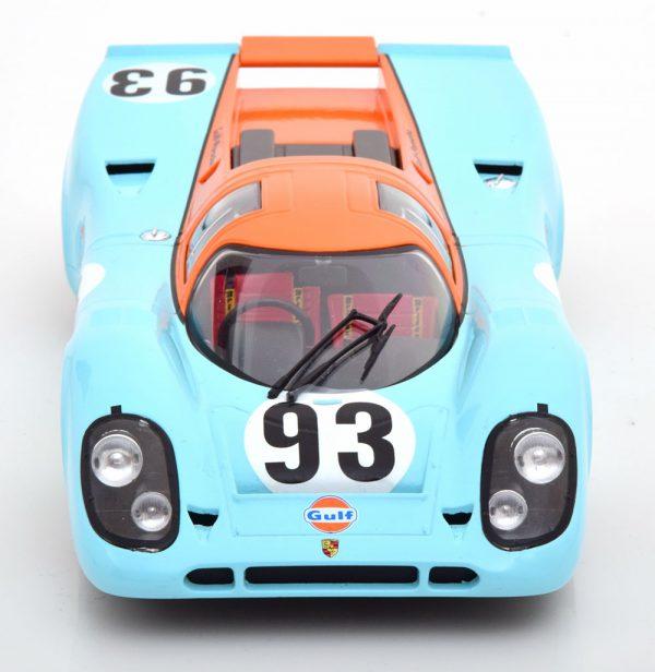 """Porsche 917K No.93, 6Hrs Watkins Glen 1971 """"Gulf"""" Bell 1-18 CMR Models"""