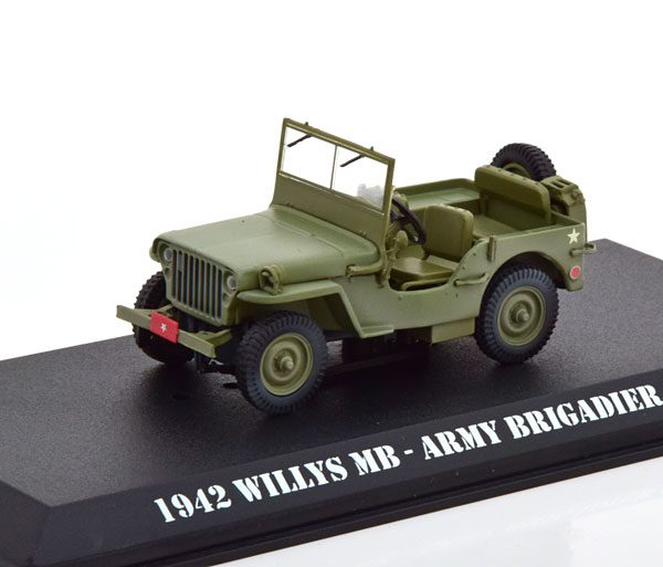"""Ford GPW Willys Jeep MB """"TV Serie M*A*SH"""" 1972-1983 Groen 1-43 Greenlight Collectibles"""