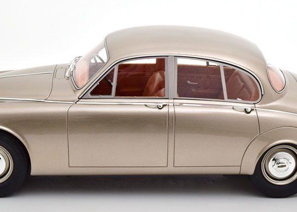 Jaguar MKII 1959 Goud Metallic 1-12 Matrix ( 12 Art Fine Models ) Resin