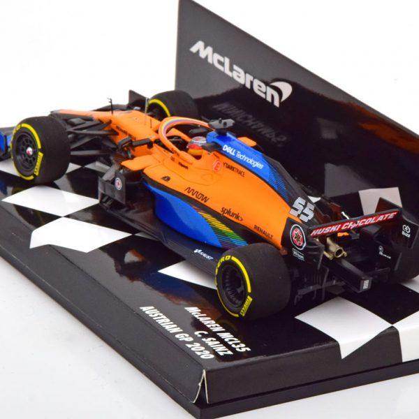 McLaren Renault MCL35 GP Oostenrijk 2020 C.Sainz 1-43 Minichamps ( Resin )