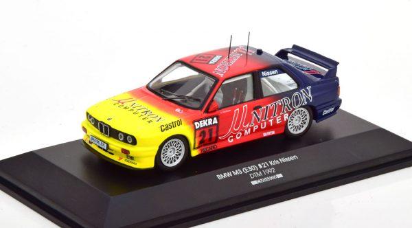BMW M3 E30 No.21, DTM 1992 K.Nissen 1-43 CMR Models