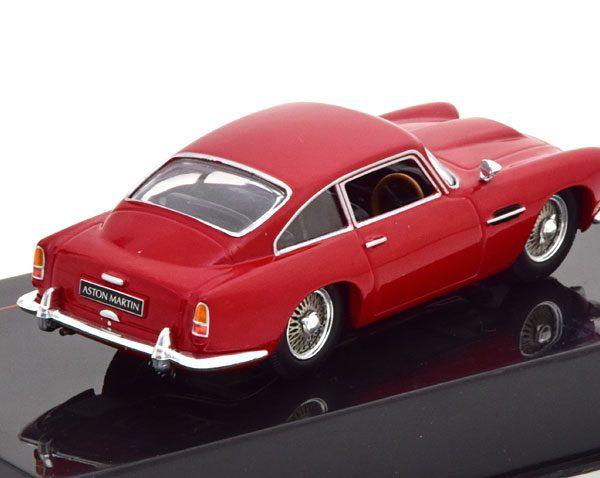 Aston Martin DB4 Coupe 1958 Rood 1-43 Ixo Models