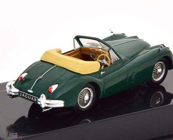 Jaguar XK140 Cabriolet 1956 Groen 1-43 Ixo Models