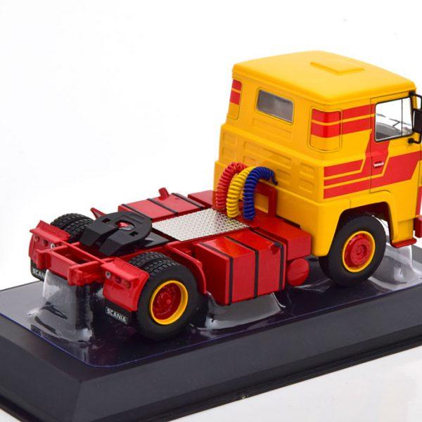 Scania LBT 141 1976 Geel / Rood 1-43 Ixo Models