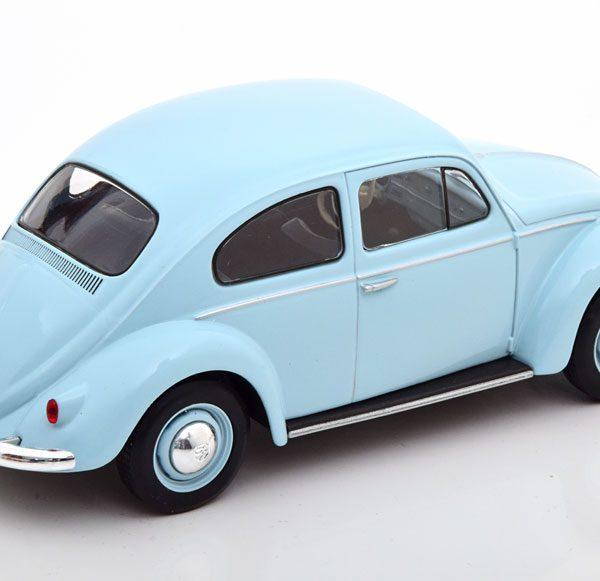 Volkswagen Kever 1960 Lichtblauw 1-24 Whitebox