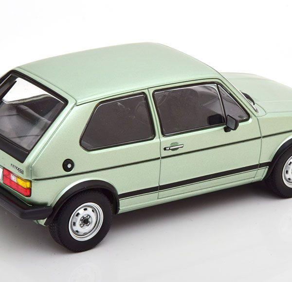Volkswagen Golf 1 GTI 1983 Groen Metallic 1-24 Whitebox