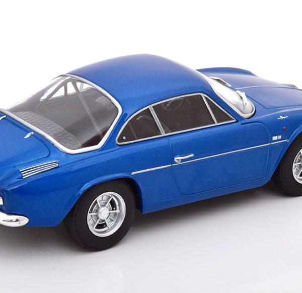 Renault Alpine A110 1300 Blauw Metallic 1-24 Whitebox