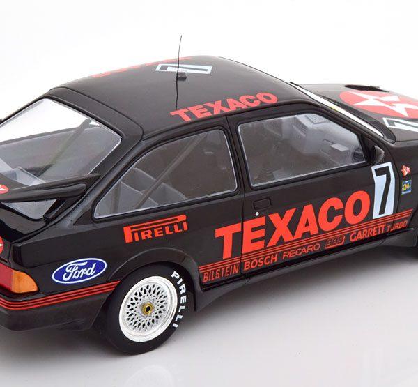 "Ford Sierra RS Cosworth No.7, 24Hrs Spa 1987 ""Texaco"" Ludwig/Niedzwiedz/Boutsen 1-18 Ixo Models"