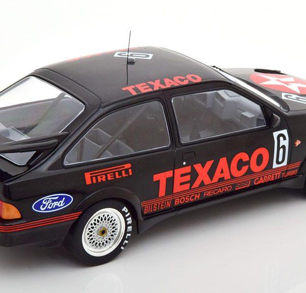 "Ford Sierra RS Cosworth No.6, 24Hrs Spa 1987 ""Texaco"" Soper/Dieudanne/Streiff 1-18 Ixo Models"